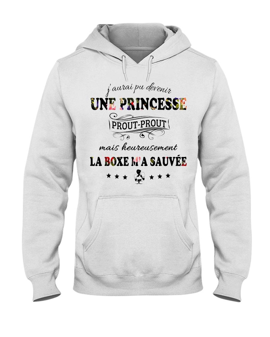 La Boxe M'A Sauvée Hooded Sweatshirt