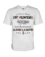 La Boxe M'A Sauvée V-Neck T-Shirt thumbnail