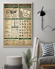 Deer Hunting Knowledge 11x17 Poster lifestyle-poster-1