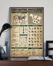 Deer Hunting Knowledge 11x17 Poster lifestyle-poster-2