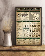 Deer Hunting Knowledge 11x17 Poster lifestyle-poster-3