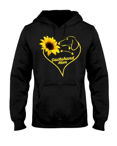 Dachshund mom sunflower 9997 0005