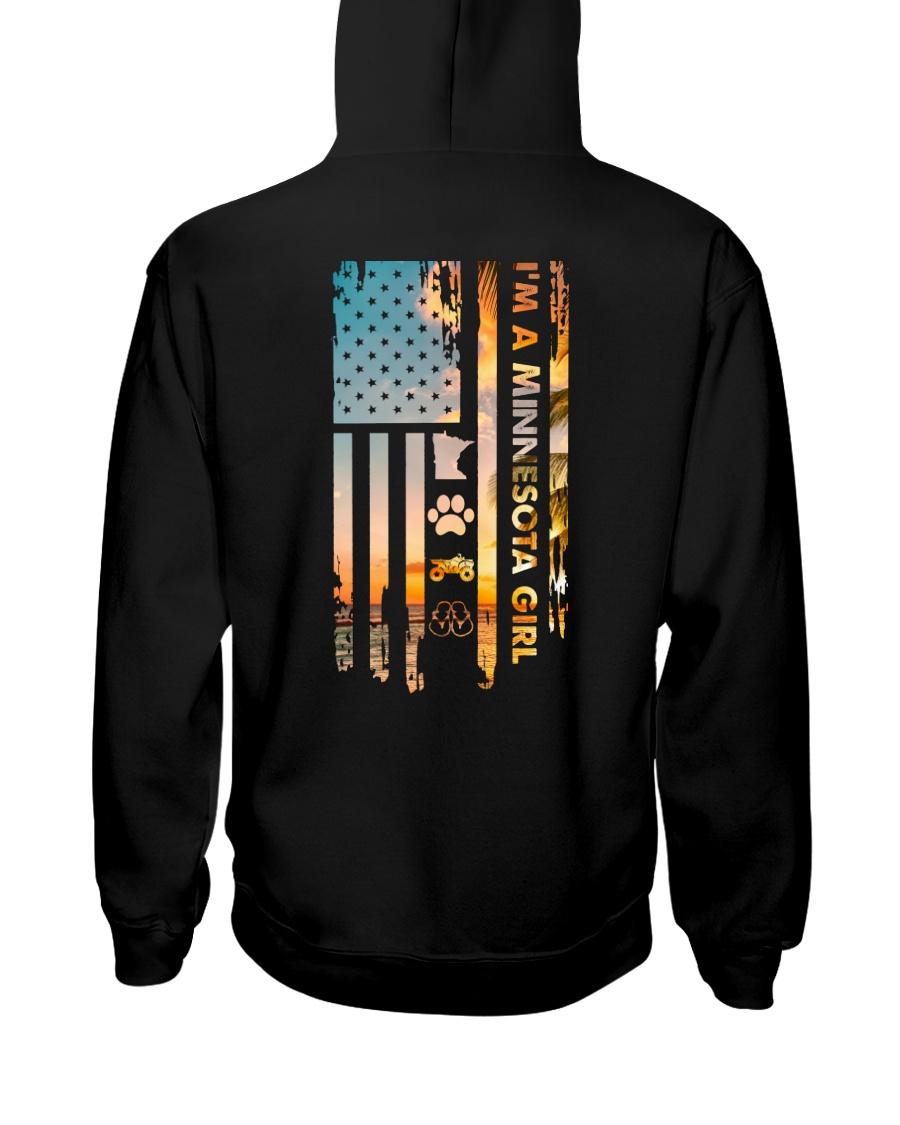 Minnesota USA Flag ATV PT 16 Hooded Sweatshirt