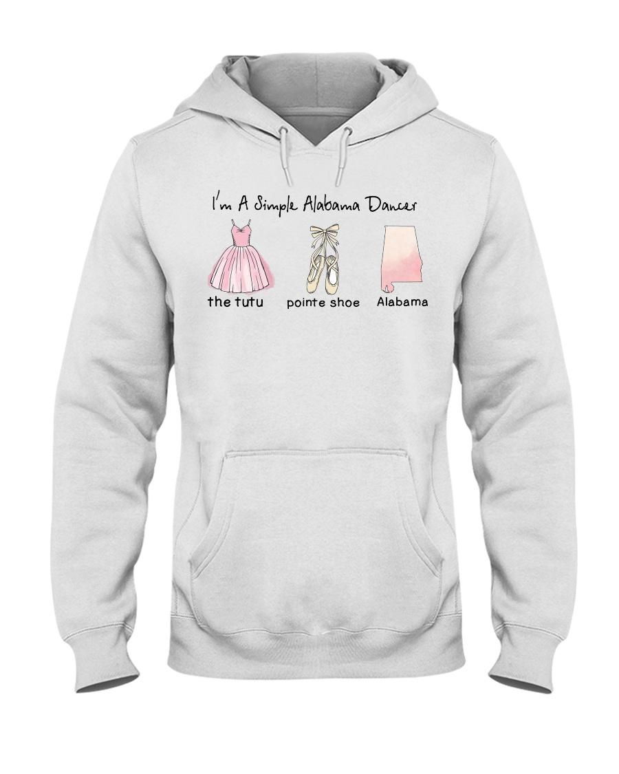 Simple Dancer - Alabama Hooded Sweatshirt