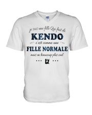 Fille Normale - Kendo V-Neck T-Shirt thumbnail