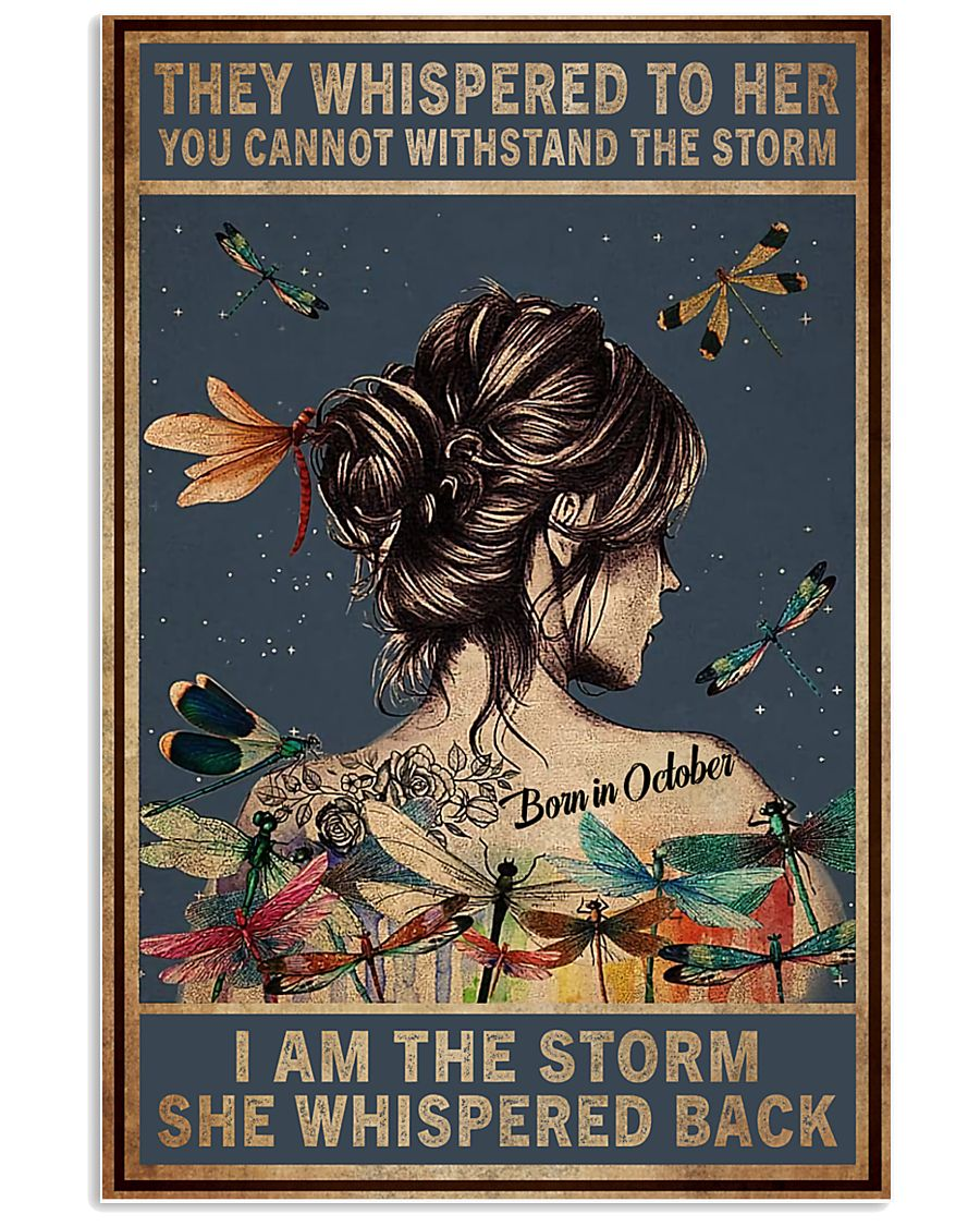October Girl - I am The Storm 11x17 Poster