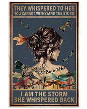 October Girl - I am The Storm 11x17 Poster front