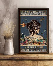 October Girl - I am The Storm 11x17 Poster lifestyle-poster-3