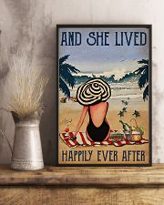 She Lived Happily Ever After NB 11x17 Poster lifestyle-poster-3