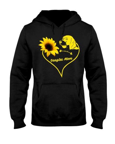 Beagles  mom sunflower 9997 0005