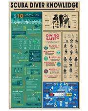 Scuba Diver Knowledge 0012 11x17 Poster front