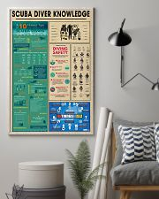 Scuba Diver Knowledge 0012 11x17 Poster lifestyle-poster-1