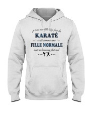 Fille Normale - Karaté Hooded Sweatshirt front