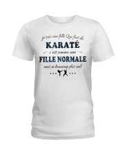 Fille Normale - Karaté Ladies T-Shirt thumbnail