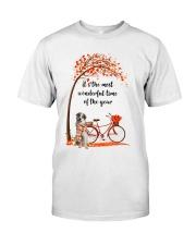 Great Pyrenees Dog - Autumn Classic T-Shirt thumbnail
