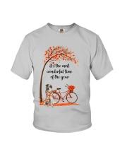 Great Pyrenees Dog - Autumn Youth T-Shirt thumbnail