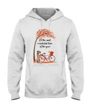 Great Pyrenees Dog - Autumn Hooded Sweatshirt front