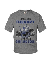 I Don't Need Therapy - Golf Youth T-Shirt thumbnail