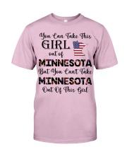 Minnesota girl - you can Classic T-Shirt thumbnail