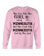 Minnesota girl - you can Crewneck Sweatshirt thumbnail