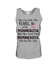 Minnesota girl - you can Unisex Tank thumbnail