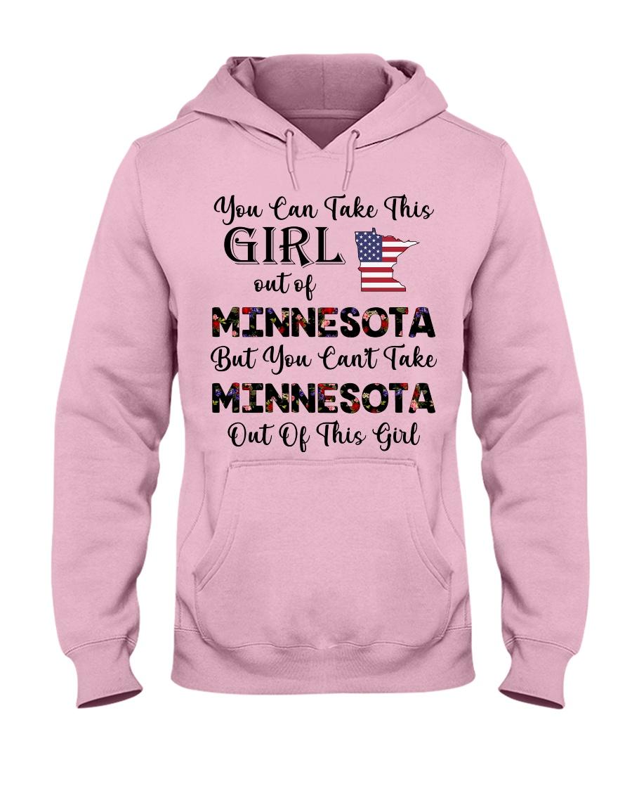 Minnesota girl - you can Hooded Sweatshirt