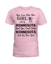 Minnesota girl - you can Ladies T-Shirt thumbnail