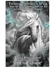HORSE - The devil whispered in my ear 11x17 Poster front