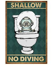 SHALLOW NO DIVING 11x17 Poster front