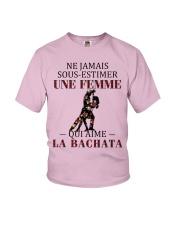 La bachata - sous estimer une femme PT Youth T-Shirt thumbnail