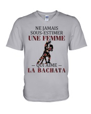 La bachata - sous estimer une femme PT V-Neck T-Shirt thumbnail