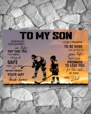 Ice hockey-to my son 9992 0038 17x11 Poster aos-poster-landscape-17x11-lifestyle-13