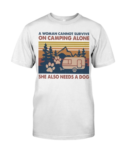 Cannot survive on camping