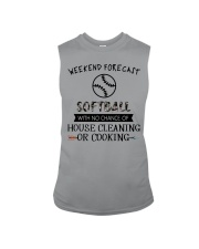 softball-weekend forecast-cooking Sleeveless Tee thumbnail