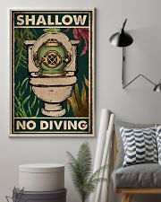 Shallow No Diving 11x17 Poster lifestyle-poster-1