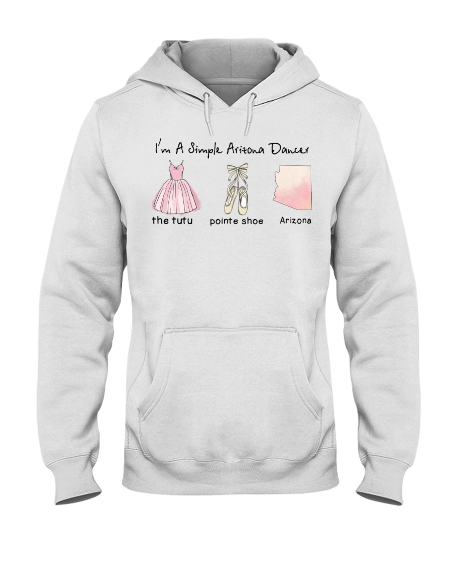 Simple Dancer -Arizona Hooded Sweatshirt