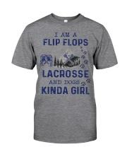 I Am A Flip Flops Kinda Girl - Lacrosse Classic T-Shirt thumbnail