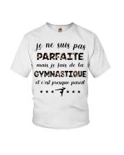 Gymnastique - Je Ne Suis Pas Parfaite Youth T-Shirt thumbnail