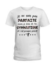 Gymnastique - Je Ne Suis Pas Parfaite Ladies T-Shirt thumbnail
