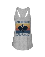 Assuming I'm Just An Old Lady - Pickleball Ladies Flowy Tank thumbnail