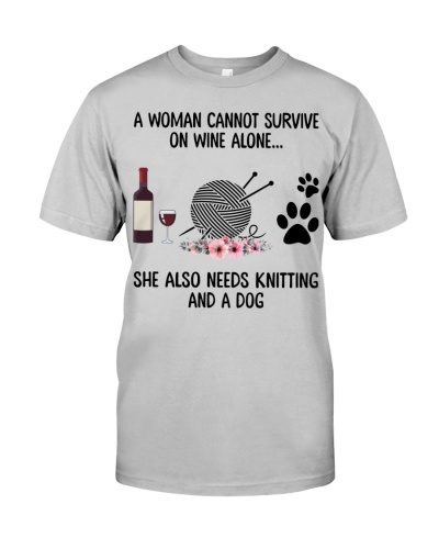 She needs wine dog knitting