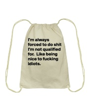 Only 14 today - Discount 60 percent Drawstring Bag thumbnail