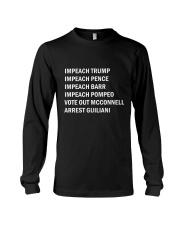 Only 16 Today - Impeach Trump Long Sleeve Tee thumbnail