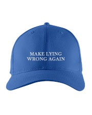 Only 16 Today - Impeach Trump Embroidered Hat front