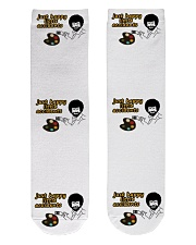 Only 16 today Crew Length Socks front