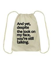 Sale Black Friday - LIMITED EDITION Drawstring Bag thumbnail