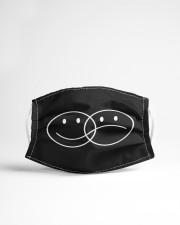 Smiley and sad face Cloth face mask aos-face-mask-lifestyle-22