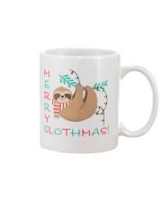 Merry Slothmas Mug front