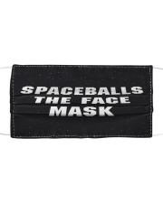 Spaceballs the face  Cloth face mask front
