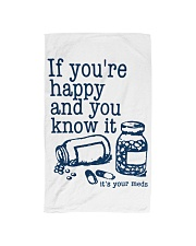 It's your meds Hand Towel front